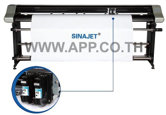 เครื่องวาดแบบ 2 หัววาด Sinajet Plotter